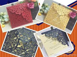 Invitation Card With Photo Cheap Laser Cut Gold Silver Wedding Invitations Cards Hollow