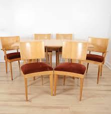 Heywood Wakefield Dining Room Set Mid Century Modern Heywood Wakefield Gateleg Dining Table And