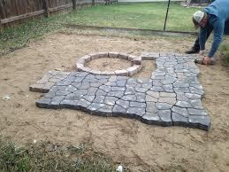cobblestone patio paver molds patio design ideas