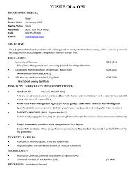 sample resume for fresh graduate resume for your job application