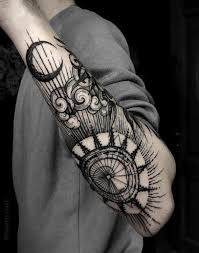 image result for sun and moon sleeve