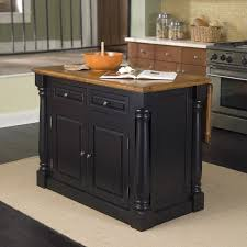 Portable Kitchen Island With Drop Leaf Kitchen Home Styles Americana Antiqued White Kitchen Island