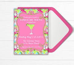 cocktail party invitation margarita party cinco de mayo party