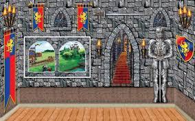 medieval scene setter castle backdrops u0026 props partycheap