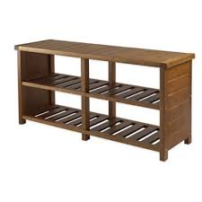 Bench Shoe Storage Buy Entryway Benches Shoe Storage From Bed Bath Beyond