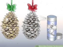 6 ways to make tree decorations wikihow