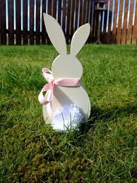 Diy Easter Lawn Decorations by Wonderful Easter Decorations Made Of Wood My Desired Home