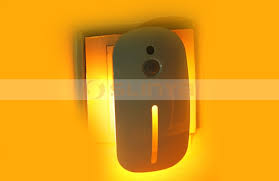 motion sensor night light plug in motion sensor led night light plug in light used for children