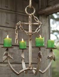 Real Candle Chandelier Candles Candleholders Nautical Luxuries
