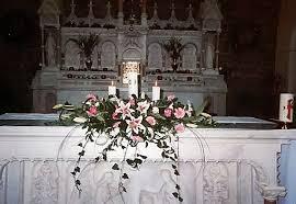 wedding altar flowers church and ceremony flowers wedding flowers galway