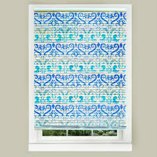 11 genius ways to transform your ugly blinds hometalk stencil them with bright colors