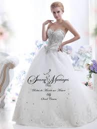 robe de mariã e pour femme voilã e robe de mariée princesse bustier strass mariage