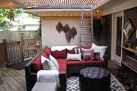 outdoor livingroom an eclectic outdoor living room