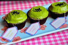 sesame cupcakes lavendersprinkles