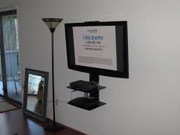 Tv Corner Wall Mount With Shelf Tv On Wall Cesio Us
