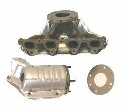 2000 honda civic exhaust manifold honda civic 1 6 exhaust manifold replacement catalytic convertor