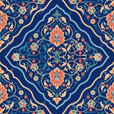 arabic tile design traditional islamic ornamental seamless