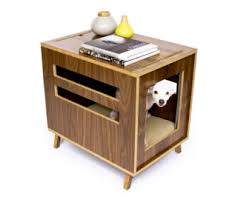 Modern Dog Furniture by Mid Century Modern Dog Crate Furniture Wooden Dog House