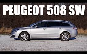 peugeot reviews eng peugeot 508 sw 2015 test drive and review youtube