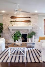 Modern Beach Living Room Fixer Upper Bringing A Modern Coastal Look To A