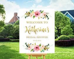 bridal shower signing plate bridal shower sign etsy