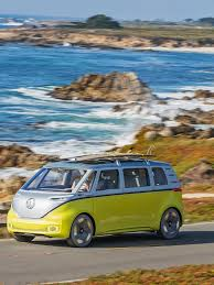 vw microbus is back and it is electric volkswagen id buzz