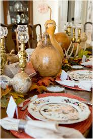 beautiful thanksgiving table decor and a beautiful story