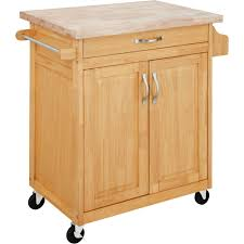 wood kitchen island cart mainstays kitchen island cart finishes walmart