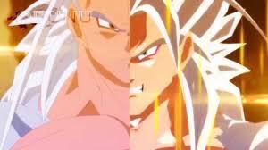 fused evil goku vs super saiyan 5 vegeta dragon ball ex youtube