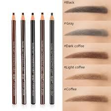 5pcs Pack 5 Colors Long Lasting Eyebrow Pencil Waterproof Eye Brow
