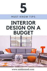 Home Design On A Budget Furniture Store In Houston Interior Design On A Budget U003d Midinmod