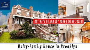 brooklyn house multy family house 2416 e 7th st brooklyn ny youtube