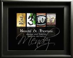 wedding gift letter wedding anniversary gifts groom custom made to order