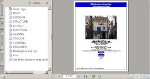 sample house inspection report home inspection report chicago home inspector