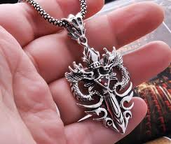 silver dragon pendant necklace images Handmade thai silver dragon pendant for men handmade thailand 925 jpg