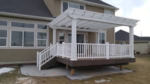 How Much Is A Pergola by What Is The Average Cost Of A Salt Lake Deck In 2016 Archadeck