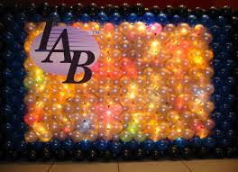 Lighted Balloons Balloon Walls