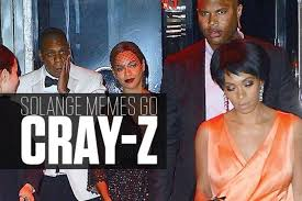 Solange Memes - jay z and solange memes go cray z