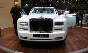 rolls royce introduces phantom serenity news car