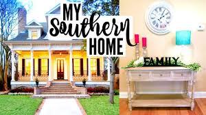 new house tour southern farmhouse home decor youtube