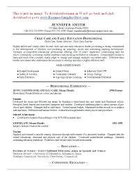 caregiver resume sample objective elementary essays samples