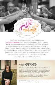 day of wedding coordinator wedding day coordination mon amie events inc indianapolis