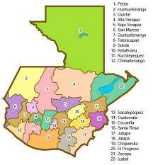 geographical map of guatemala languages of guatemala 2007