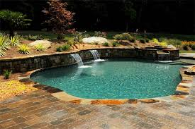 How To Landscape A Sloped Backyard - how to build a pool what to do with a sloped backyard