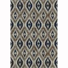 Gray Moroccan Rug Shop Allen Roth Embrook Gray Rectangular Indoor Machine Made