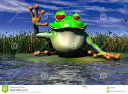 a frog waving stock photography image 6830192