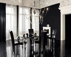 black and white dining room ideas dining room black dining room decoration idea with