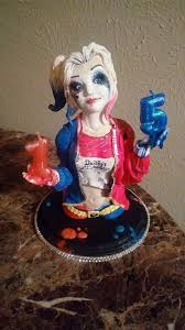 harley cake topper harley quinn fondant cake topper took me about 12 hours to make