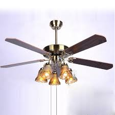 5 light ceiling fan luxury european vintage 52 ceiling fan l with 5 paddles and 5