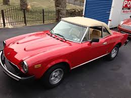 maserati pininfarina cost fiat 124 spider for sale hemmings motor news